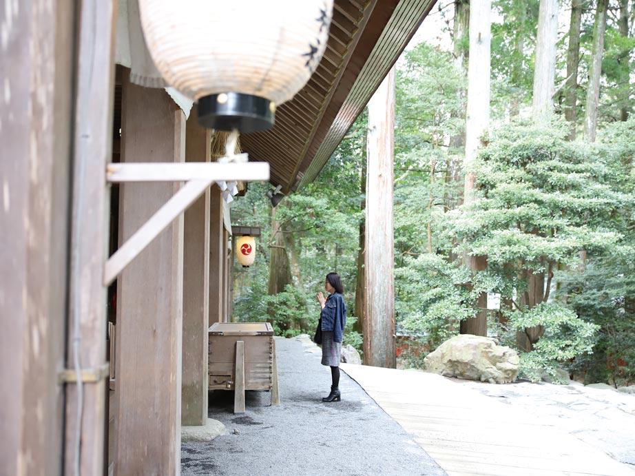椿大神社参拝
