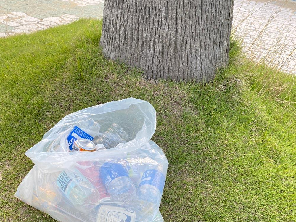 マリーナ河芸ゴミ拾い